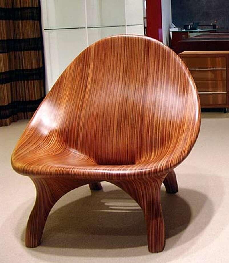 Eco 21, copaiba chair.