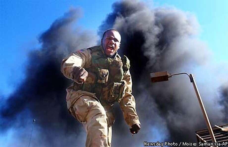 US SOLDIER Photo: MOISES SAMAN
