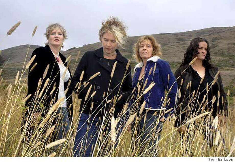 The band Blame Sally. L to R: Monica Pasqual, Renee Harcourt, Jeri Jones, Pam Delgado.  PHOTO by Tom Erikson Photo: Tom Erikson