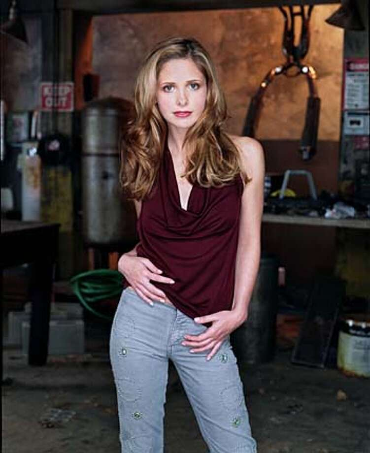 UPN network Sarah Michelle Gellar is BUFFY THE VAMPIRE SLAYER  HANDOUT PHOTO/VERIFY RIGHTS AND USEAGE Photo: HANDOUT