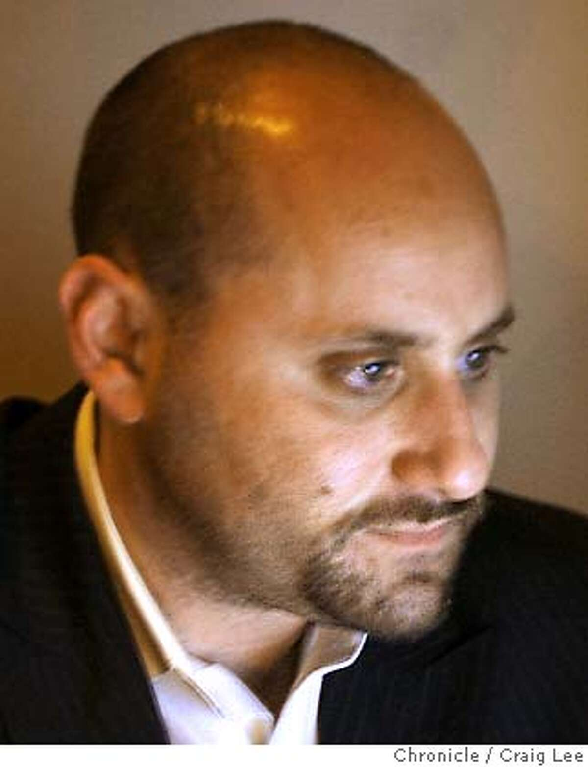 Alex Tourk, Mayor Gavin Newsom's former campaign manager. Chronicle photo by Craig Lee
