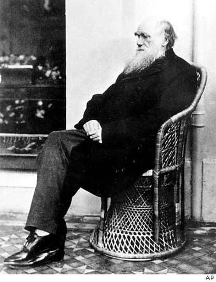 Charles Darwin, shown in 1875, came up with his theory of natural selection by observing the world around him. That�s more difficult to do now, as we have paved or planted over much of our world. Associated Press File Photo