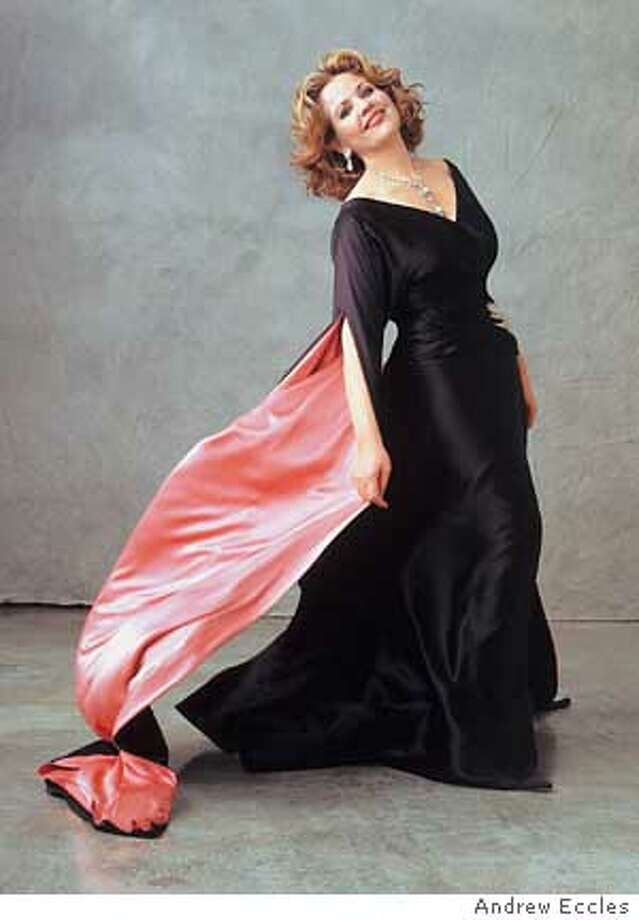 Renee Fleming photo is an exclusive to the Chronicle. PHOTO CREDIT: ANDREW ECCLES Photo: ANDREW ECCLES