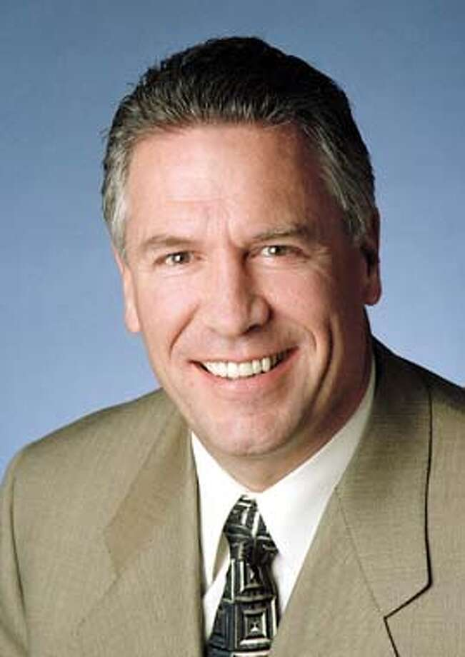 Applied Materials, Inc. names (former Intel Executive Vice President) Michael R. Splinter as President and CEO of Applied Materials, Inc. As CEO, splinter succeeds James C. Morgan, who will continue as chairman of the company's Board of Directors on 4/30/03 in . / The Chronicle