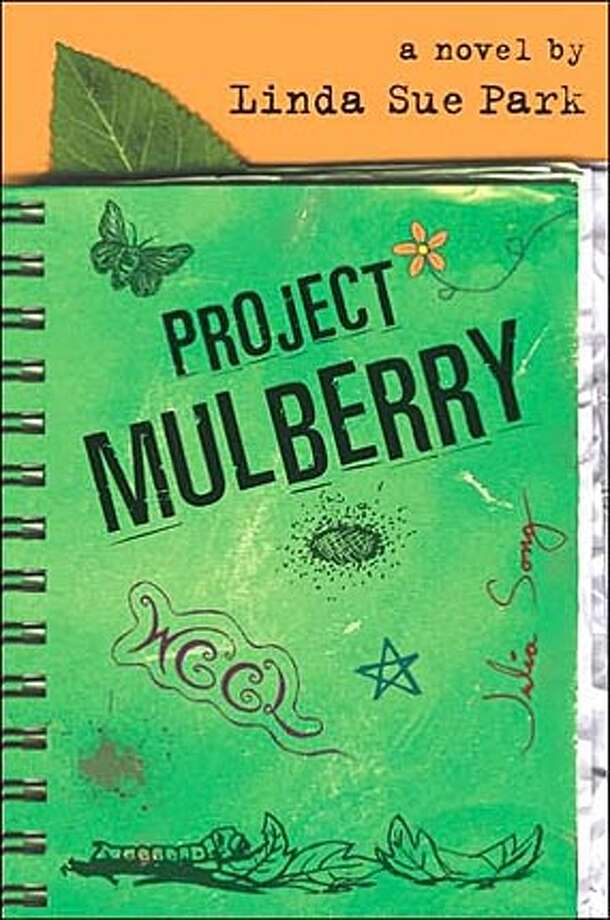 "Book cover art for, ""Project Mulberry"" a novel by Linda Sue Park. BookReview#BookReview#Chronicle#07-31-2005#ALL#2star#e6#0423126247"