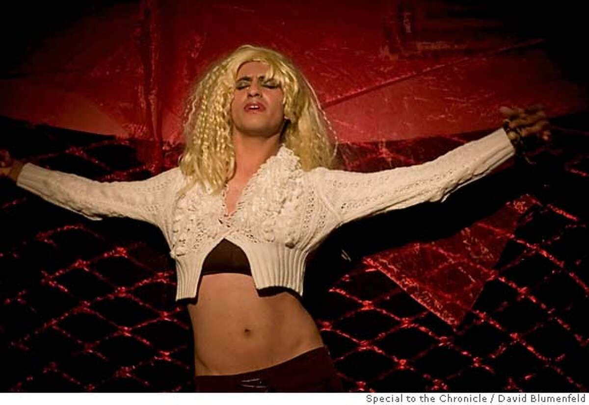Jerusalem, Israel: Diva Nawal, a Palestinian drag queen performs at a nightclub in Jerusalem. David Blumenfeld/Special to the Chronicle NO MAGS, , NO TV
