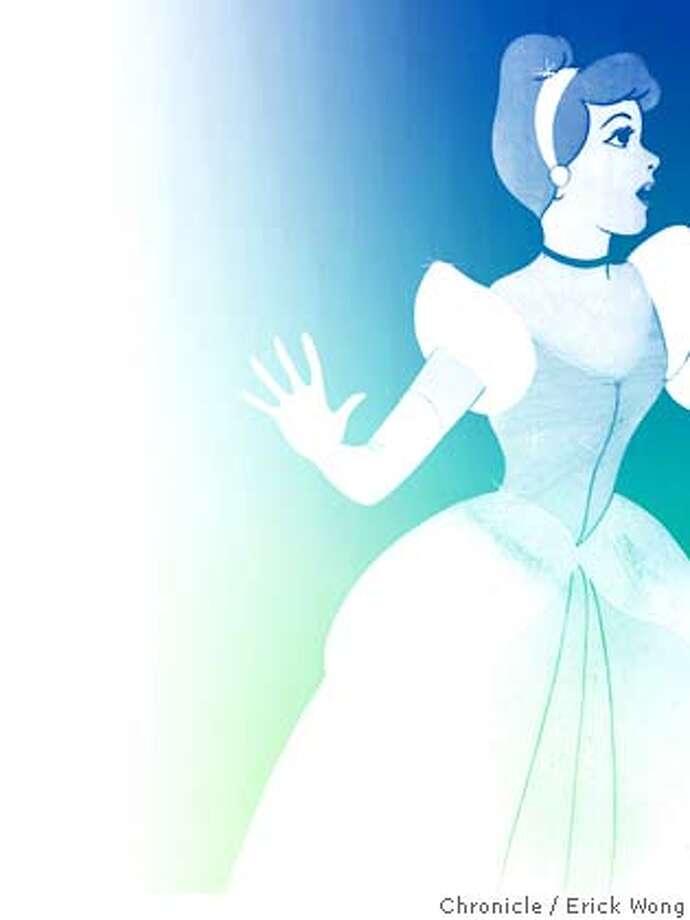 Photo illustration for Cinderella05 by Erick Wong / The Chronicle Cinderella (c) Walt Disney Productions Photo: Erick Wong