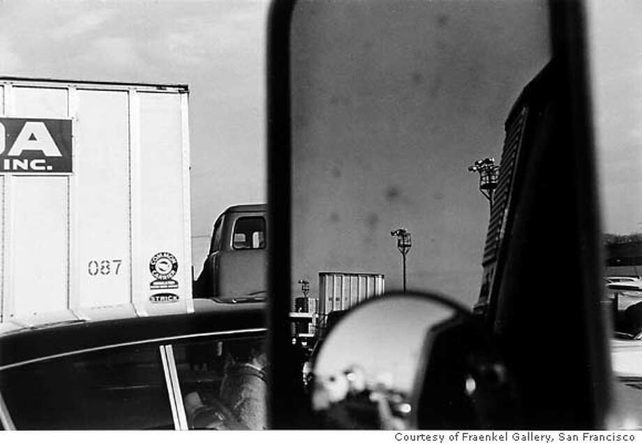 GALS30 USA, ca. 1968-69  By Lee Friedlander Courtesy Fraenkel Gallery, San Francisco Ran on: 07-30-2005  Lee Friedlander made &quo;USA,&quo; a photograph of parked vehicles cropped into an artful jumble, in 1968-1969.