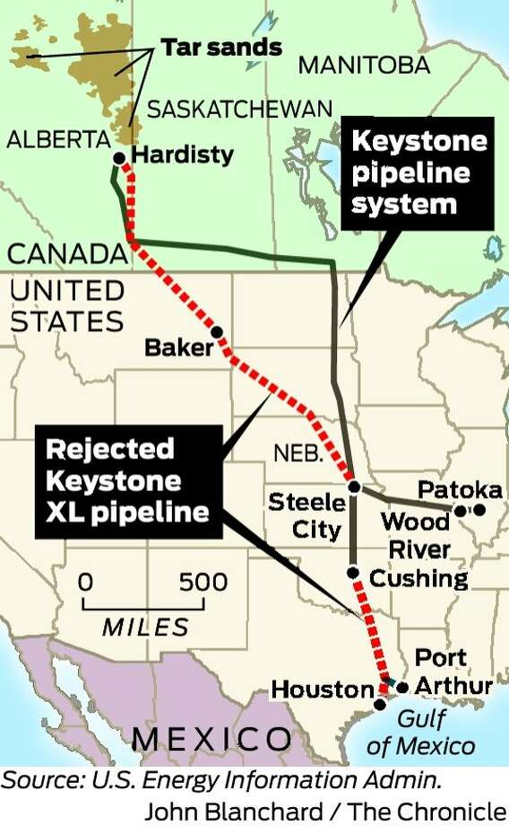 Saying No For Now On The Keystone Xl Pipeline Sfgate