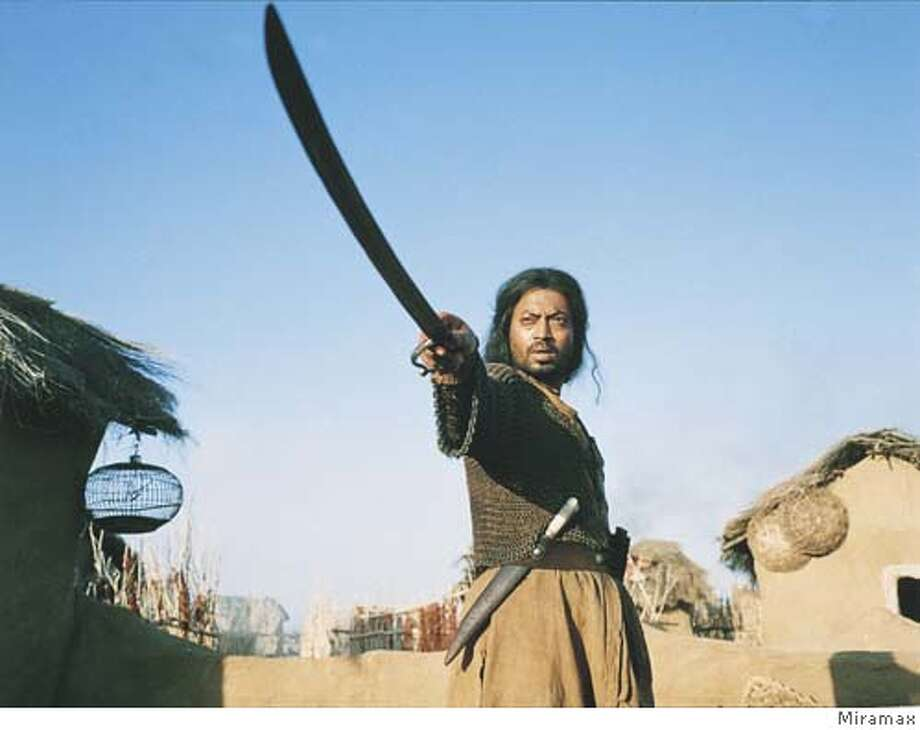 WARRIOR29 Irfan Khan plays the warrior Lafcadia in �THE WARRIOR.� Courtesy Miramax Films.