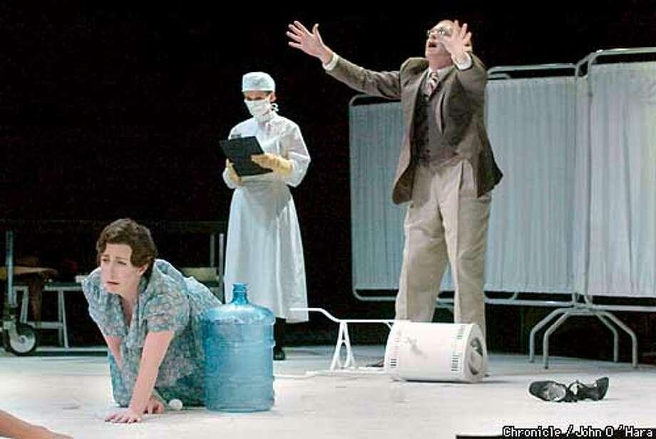 Cowell Theater, Ft. Mason, San Francisco,CA.  Dr. Heidegger's Fountain of YOuth  Katherine Rohrer plays Hanna Moody  Brian ANderson plays Reu