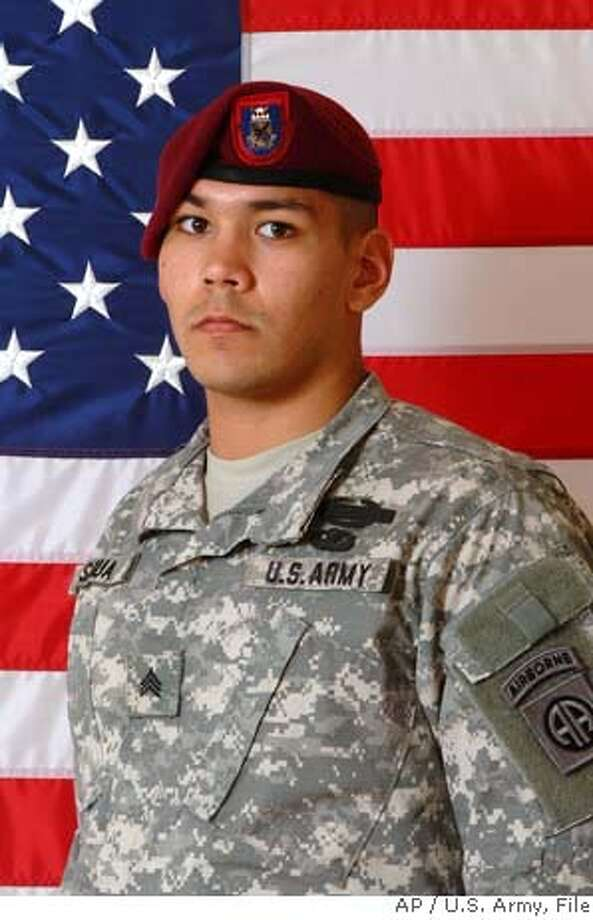 A photo provided by the Army's 82nd Airborne Division shows Sgt. William M. Sigua, 21, of Los Altos Hills, Calif., who died Wednesday, Jan. 31, 2007, of wounds he suffered when his unit came in contact with small arms enemy fire during combat operations in Bayji, Iraq, according to a military statement. Sigua served as an infantry squad leader with the 1st Battalion, 505th Parachute Infantry Regiment, 82nd Airborne Division at Fort Bragg, N.C. (AP Photo/U.S. Army)