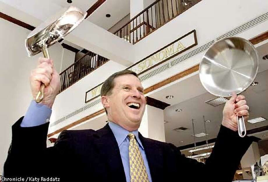 PHOTO BY KATY RADDATZ--THE CHRONICLE  Edward Mueller is the new CEO of Williams-Sonoma. We photograph him inside the Williams-Sonoma store on Post St. in San Francisco. Photo: Katy Raddatz
