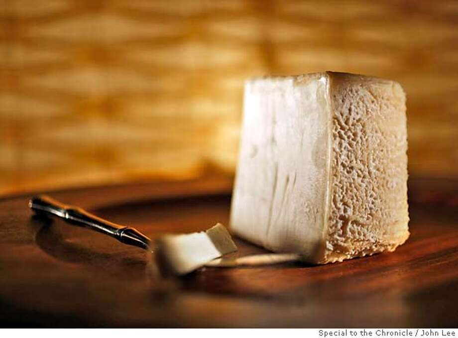 CHEESE02_01JOHNLEE.JPG  Tomme Affine du Grandmere cheese.  By JOHN LEE/SPECIAL TO THE CHRONICLE Photo: JOHN LEE
