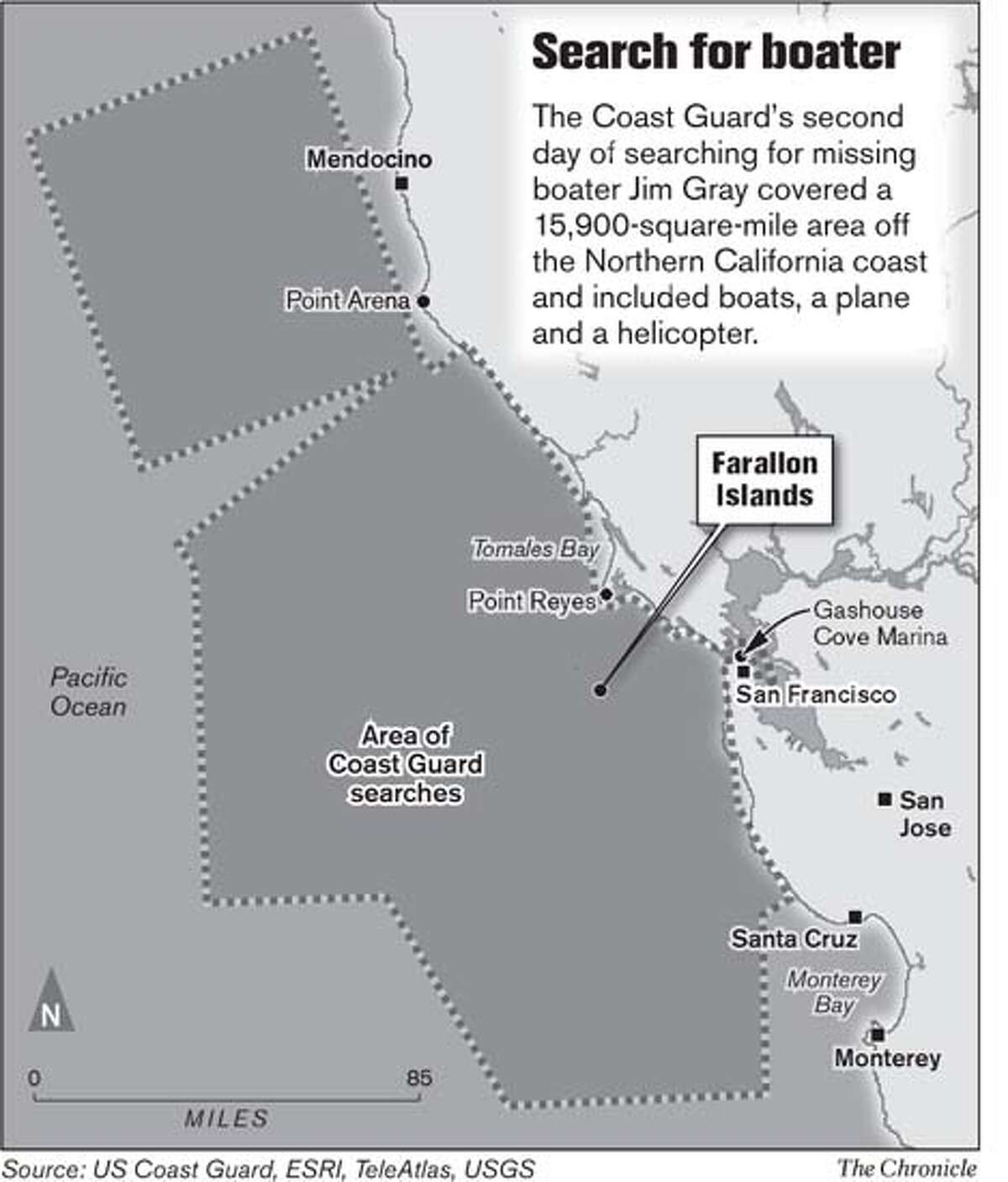 Search for Boater. Chronicle Graphic