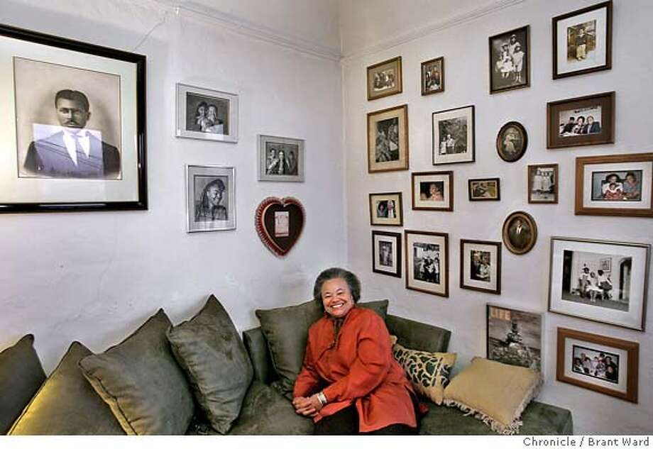 daphne122.JPG  In her living room are some Daphne Muse favorite photographs including ones of Rosa Parks, her mother and family members.  Daphne Muse has been involved or following the history of blacks in America for decades. Her home of 30 years in Oakland looks like a museum or famous African Americans and members of her own distinguished family. She divides her time between Mills College and writing. {Brant Ward/San Francisco Chronicle}1/29/07 Photo: Brant Ward