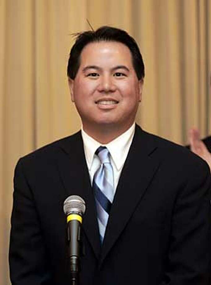 "ASSESSOR_0083.jpg_  San Francisco Mayor Gavin Newsom named Phil Ting as his choice for Assessor-Recorder for the City and County of San Francisco Friday. The Mayor said his experience gives him ""unique set of tools"" to bring real reform to the office. By Lance Iversen/San Francisco Chronicle Photo: Lance Iversen"