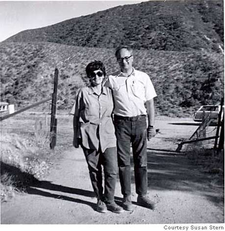 "SUICIDE24_PH3.JPG Bob and Adele Stern at their Central California ranch, mid-1970s as seen in the film ""The Self-Made Man. "" Courtesy Susan Stern Photo: Courtesy"