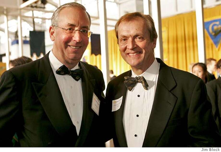 Robert Haas, chairman of Levi Strauss & Co., and Robert C. Dynes, president of the University of California system (photo: Jim Block) Ran on: 05-01-2005 Ran on: 05-01-2005