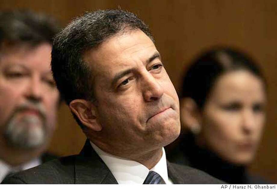 Sen. Russ Feingold, D-Wis., listens to testimony during a Senate Judiciary Committee hearing on Capitol Hill in Washington, Tuesday, Jan. 30, 2007 to discuss Congress' constitutional power to end a war. (AP Photo/Haraz N. Ghanbari) Photo: HARAZ N. GHANBARI