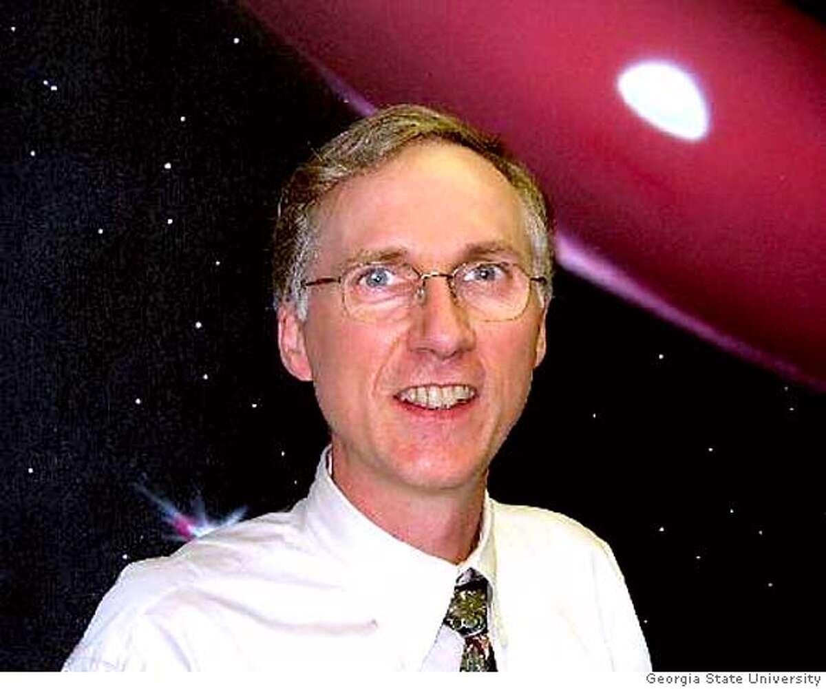 Photo of Prof. Douglas R. Gies of Georgia State University's Center for High Angular Resolution Astronomy. Photo: Courtesy of Georgia State University