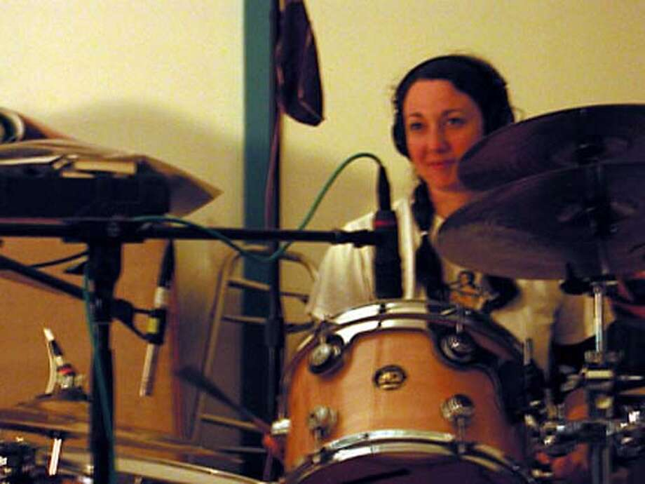 Photo of Allison Duke of the band Vervein.