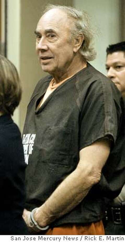 ** FILE ** Dean Arthur Schwartzmiller appears in Santa Clara County Superior Court for a plea hearing on Tuesday, July 26, 2005, in San Jose, Calif. On Monday, Sept. 18, 2006, a jury found serial child molester Schwartzmiller guilty of molesting two San Jose boys between 2003 and May 2005. (AP Photo/The San Jose Mercury News, Rick E. Martin, File) ** MAGS OUT, , ONLINES OUT ** MAGS OUT, , ONLINES OUT, LOCALS PLEASE CREDIT Photo: RICK E. MARTIN