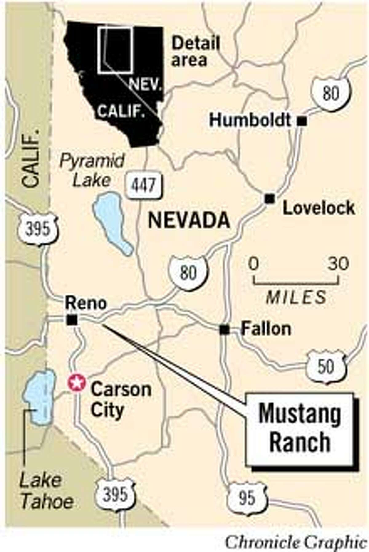 Deserts allure may replace Mustang Ranchs charms / Ex