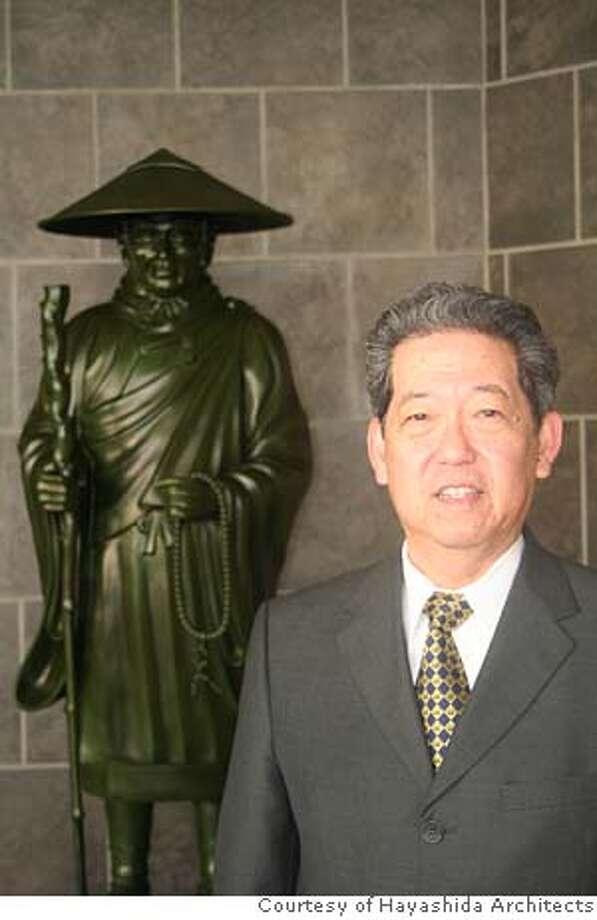 Sada Hayashida, founder and principal of Hayashida Architects and a Jodo Shinshu Buddhist. Photo courtesy of Hayashida Architects