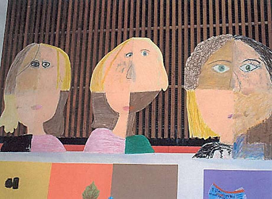 A painting from the ARTSummer Program of 2003. This to go with School Notes by Heather Knight.
