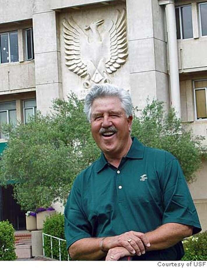 Photo of USF Golf Coach Gary Nelson in Phoenix. Photo: Courtesy of USF Photo: Courtesy Of USF