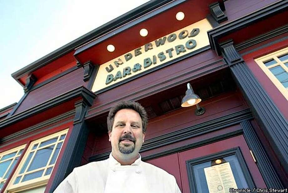 Owner/Chef Matthew Greenbaum of the Underwood Bar & Bistro in Graton at 9133 Graton Road. CHRIS STEWART/SAN FRANCISCO CHRONICLE Photo: CHRIS STEWART