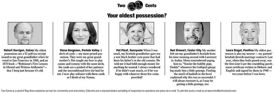 Your oldest possession?