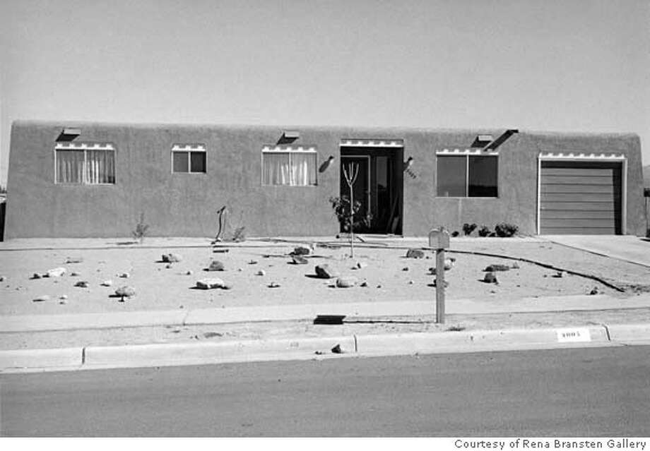 """New Mexico"" (1969) gelatin silver print by Henry Wessel Courtesy of Rena Bransten Gallery, San Francisco; Charles Cowles Gallery, New York; Gallery Luisotti, Santa Monica, California; Robert Mann Gallery, New York; and Galerie Thomas Zander, Cologne � Henry Wessel Ran on: 01-27-2007  &quo;New Mexico&quo; (1969), gelatin silver print by Henry Wessel. Photo: � Henry Wessel"