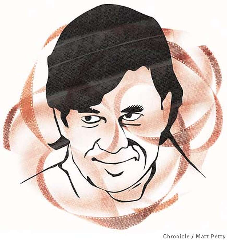 Gus Van Sant. Chronicle illustration by Matt Petty