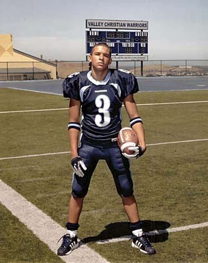 J.R. Adams, a tailback at Valley Christian High, was hit and killed by a car while on a family vacation in Cancun.