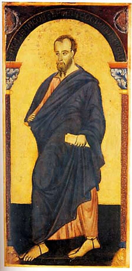 "James, the brother of Jesus, portrayed by an unknown Italian artist. From ""The Brother of Jesus"""