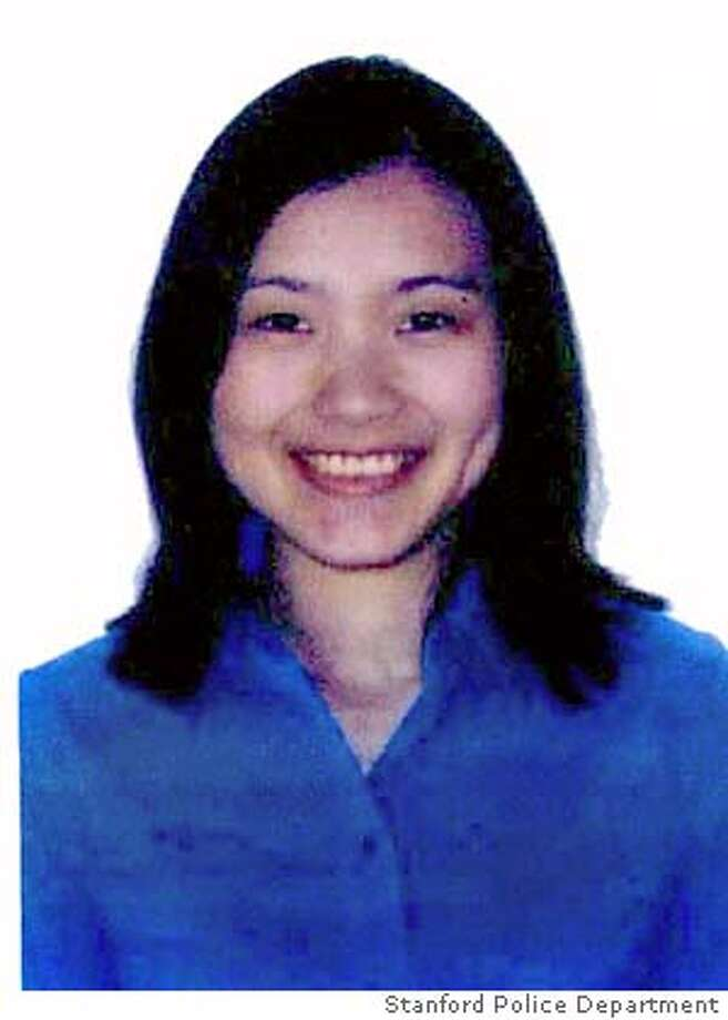 "Stanford University graduate student Mengyao ""May"" Zhou is shown in this undated photo provided by the Stanford Police Department. Zhou, an electrical engineering student has been missing since Saturday, Jan. 20, 2007, after telling her roommate at the school's graduate student housing complex that she was leaving to run errands around 10:30 a.m. (AP Photo/Stanford Police Department via The San Jose Mercury News) ** MAGS OUT ** BEST QUALITY MAGS OUT Photo: Stanford Police Department"