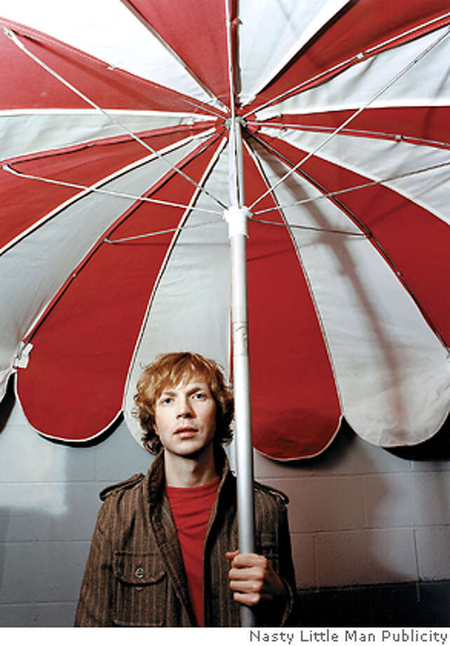 It's a 2005 publicity photo of Beck from Nasty Little Man Publicity. Ran on: 06-10-2005  Beck comes to Santa Cruz on July 11, San Jose on July 12 and San Francisco on July 18. Photo: Nasty Little Man Publicity