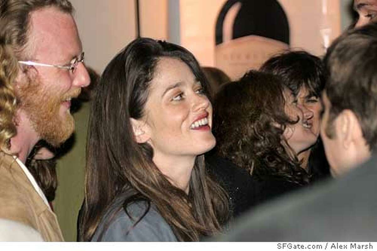 Actress Robin Tunney celebrated the debut of her new film,