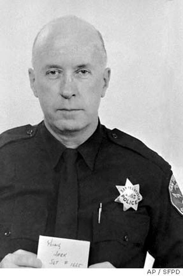 ** FILE ** Sgt. John V. Young is shown in this 1971 San Francisco Police Department photo. At least two people with ties to the Black Panthers were arrested Tuesday in the 1971 killing of Young, authorities said. Sgt. John V. Young, 51, was killed in an attack on a police station, which also injured a civilian clerk. The suspects were members of the Black Liberation Army, a violent offshoot of the Black Panther Party that was active in the Bay Area in the 1970s and early 1980s, authorities said. (AP Photo/San Francisco Police Department)