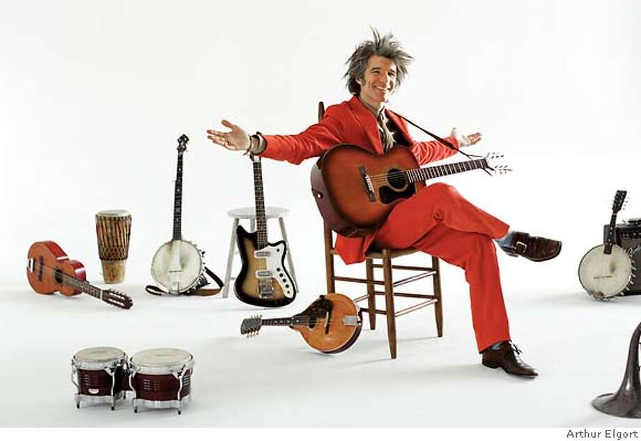 Dan Zanes, children's entertainer. Credit: Arthur Elgort Photo: Arthur Elgort