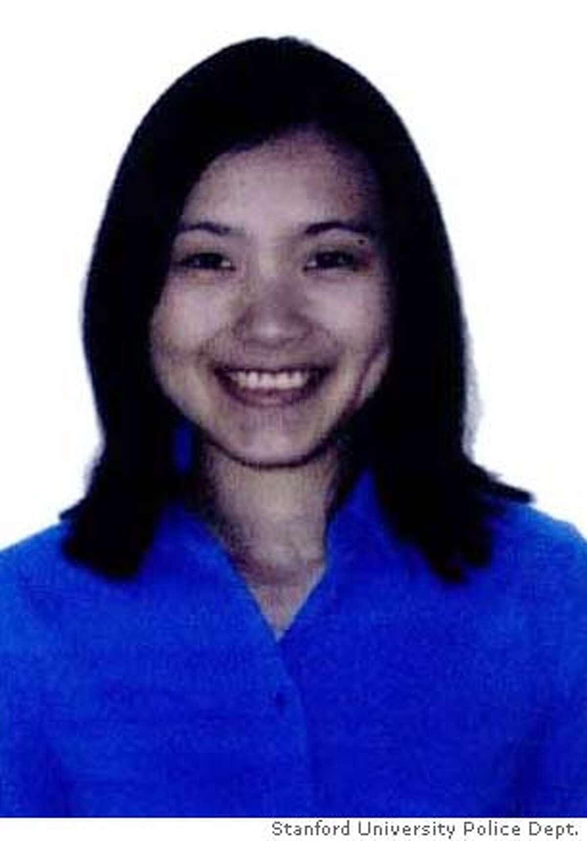 Missing Stanford grad student Mengyeo Zhou. CR: Stanford University Police Dept.