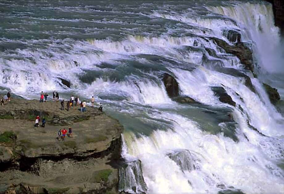 TRAVEL ICELAND -- Gullfoss, fhe Golden Waterfall Photo: Randall Hyman