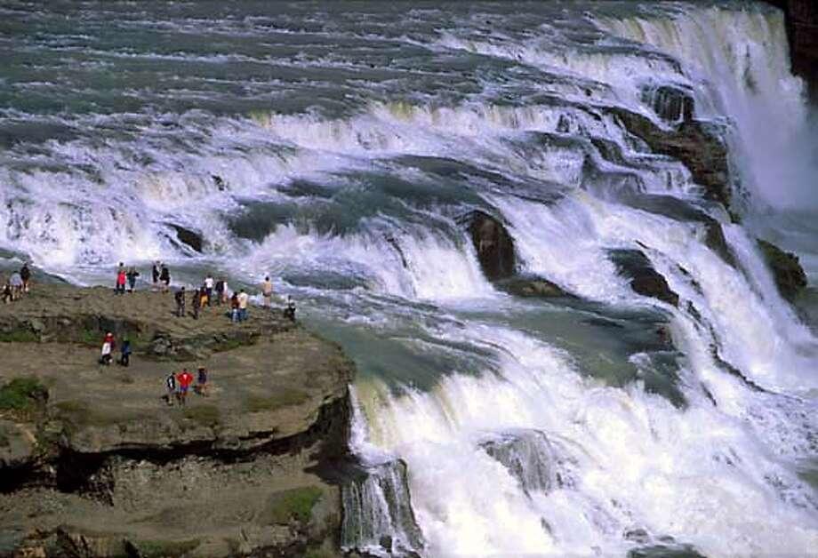 TRAVEL ICELAND -- Gullfoss, fhe Golden Waterfall Photo: Randall Hyman