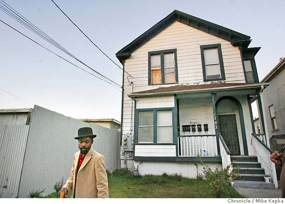 �villagebottoms00017_mk.JPG Diallo walks past one a historic West Oakland property that he plans to turn into condos for black artist. West Oakland entrepreneur, Marcel Diallo,34, is racing against the gentrification clock to create an enclave of all things African-American in his neighborhood. He has a plan to create more black homeowners, black-owned cafes, galleries, boutiques and mom-and-pop shops. His vision is to call his West Oakland Neighborhood the Village Bottoms Cultural District. Mike Kepka / The Chronicle Marcel Diallo (cq) the source MANDATORY CREDIT FOR PHOTOG AND SF CHRONICLE/ -MAGS OUT