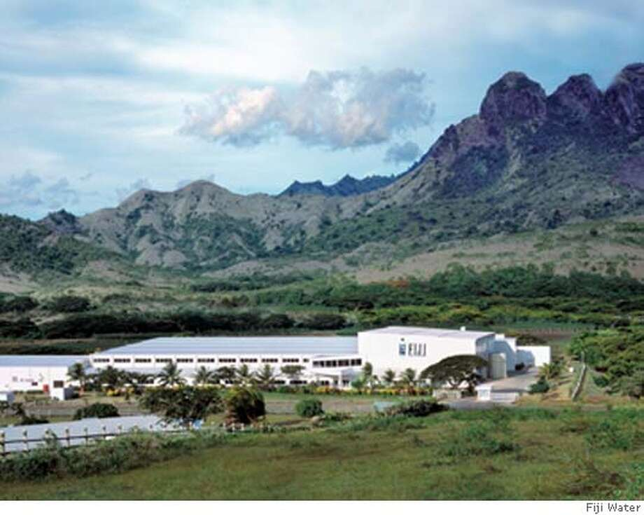 The Fiji Water bottling facility in the Yaqara Valley, Fiji. Credit: Fiji Water Photo: Fiji Water