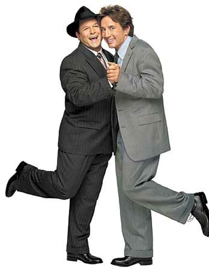 THIS IS A HANDOUT IMAGE. PLEASE VERIFY RIGHTS. Jason Alexander, Martin Short playing in  PRODUCERS  PHOTO: Norman Jean Roy HANDOUT PHOTO/VERIFY RIGHTS AND USEAGE Photo: HANDOUT