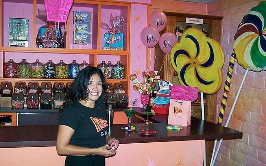 Christy Weinstein, an employment lawyer, runs a candy store in Palo Alto.