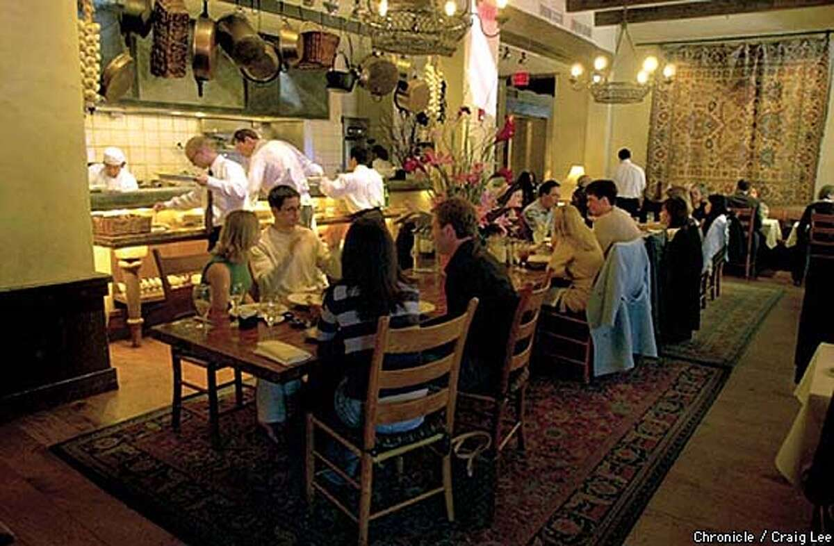 Kokkari restaurant at 200 Jackson street in San Francisco for the top 100 restaurant issue of the 4/13/2003 magazine. Photo by Craig Lee/San Francisco Chronicle